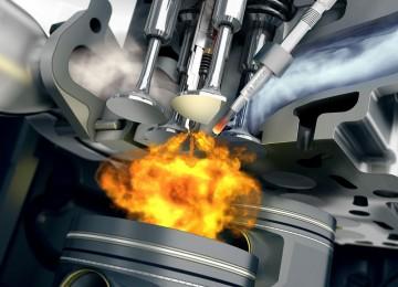 Камера сгорания дизельного ДВС
