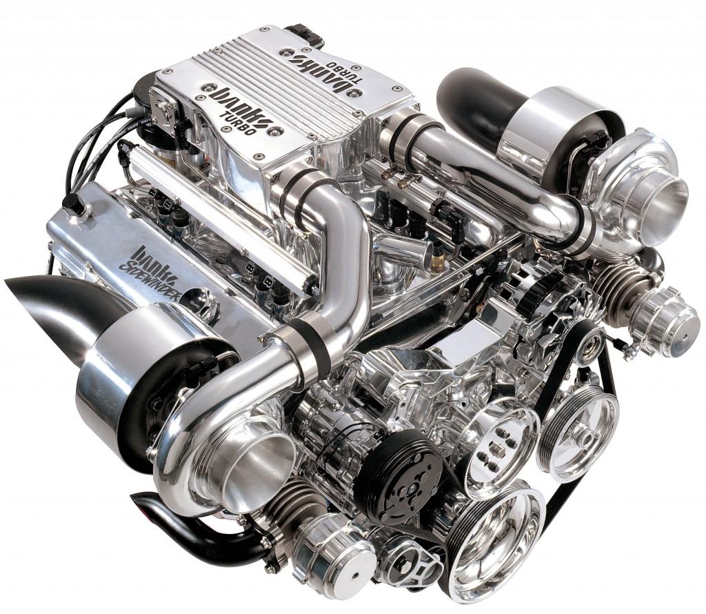 Турбобензиновый двигатель