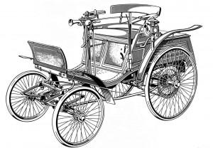 Автомобиль Benz Velo