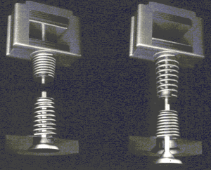 Электромагнитный привод ГРМ