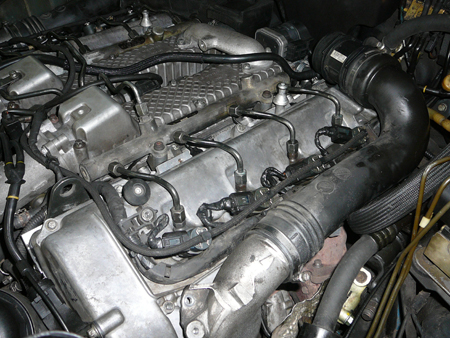 Форсунки на дизельном двигателе