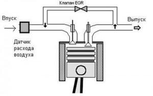 Циркуляция отработавших газов с ЕГР