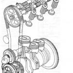 Верхняя компоновка клапанов