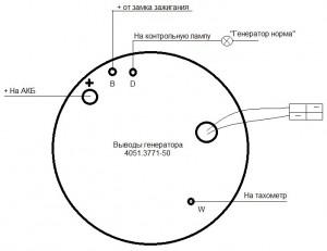 Схема подключения тахомтера