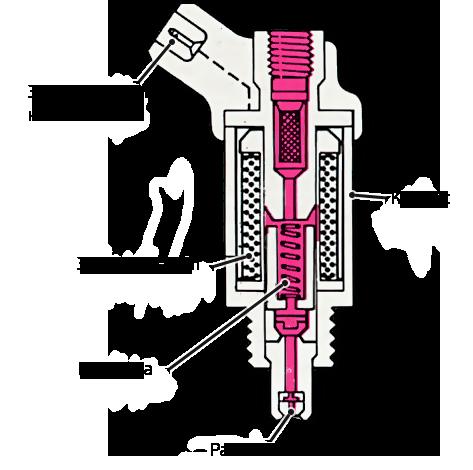 Электромеханическая форсунка