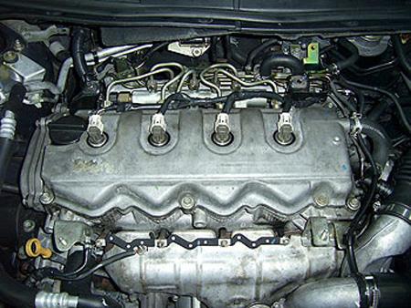Дизельный двигатель Common Rail