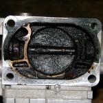 Дизельный мотор сапунит