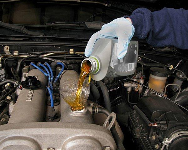 Промывка двигателя перед заменой масла