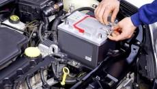 Снятие аккумулятора с автомобиля