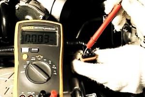 Проверка датчика мультиметром