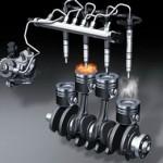 Дизельный двигатель и система питания
