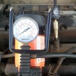 Замер давления топлива в рампе