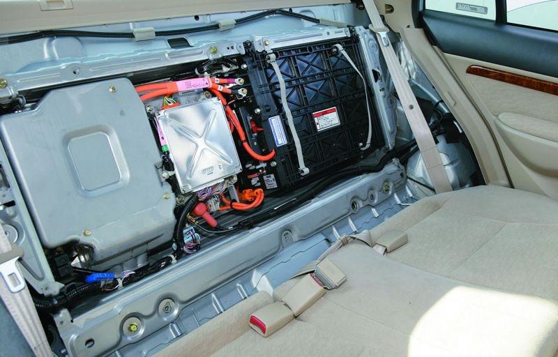 Батарея в гибридном авто