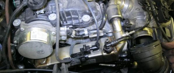 Самостоятельное глушение клапана ЕГР дизельного двигателя