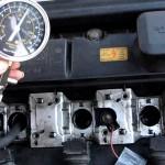 Измерение компрессии двигателя