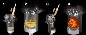 калильное зажигание в двигателе