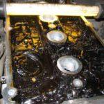 Смешивание моторных масел: масло свернулось в двигателе