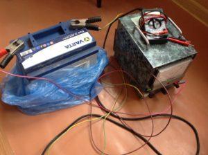 Как можно зарядить необслуживаемый аккумулятор