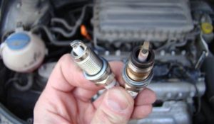 Грязные свечи зажигания двигатель троит