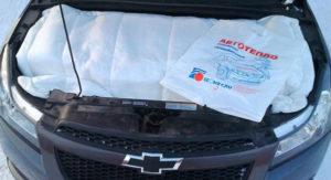 Автоодеяло-утеплитель двигателя автомобиля