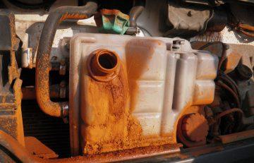 Ржавчина в системе охлаждения двигателя