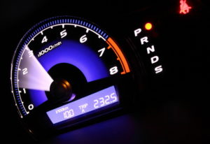Двигатель на средних оборотах