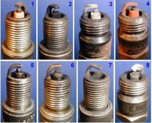 Диагностика состояния двигателя по свечам зажигания