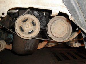 Двигатель текут сальники коленвала
