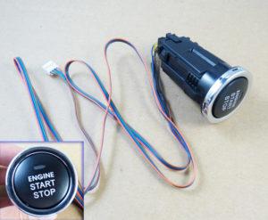 Установка кнопки безключевого запуска двигателя