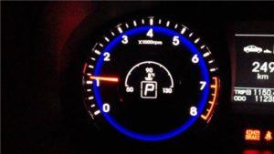 Низкие обороты двигателя