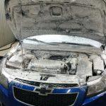 Мойка двигателя Керхером