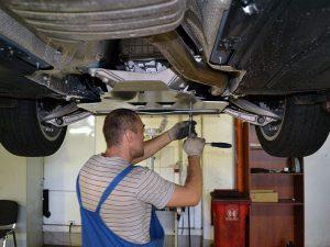 Установка защиты картера двигателя своими руками