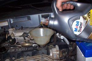 Промывка мотора перед заменой масла