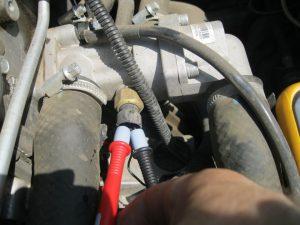 Проверка датчика температуры охлаждающей жидкости