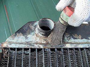 Ремнот пайка радиатора автомобиля