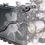 Система охлаждения двигателя устройство