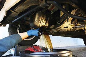 Замена масла с промывкой двигателя