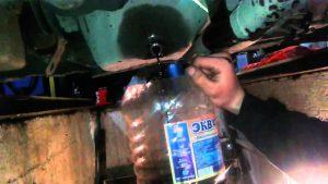 Как промыть мотор соляркой