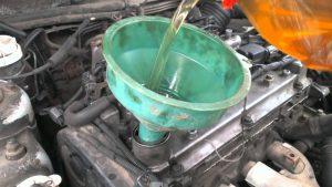 Промывка мотора соляркой