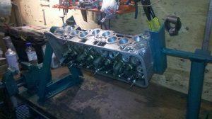 Самодельный стенд для разборки и сборки двигателя