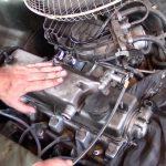 Застучал двигатель