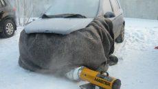 Замерзла вода в радиаторе и блоке цилиндров