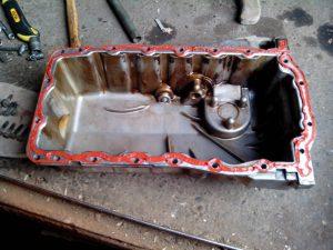 Силиконовый герметик для двигателя