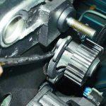Проверка помпы на двигателе