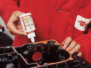 Анаэробный герметик для двигателя