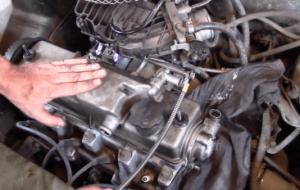 Стук и вибрация двигателя