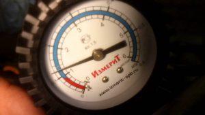 Замер давления масла в двигателе