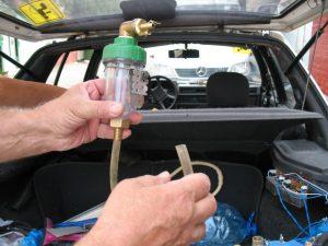 Впрыск воды в двигатель своими руками