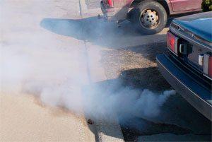 Состояние двигателя по цвету выхлопных газов