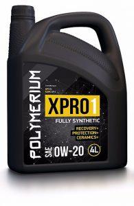 Синтетическое полимерное моторное масло 0W20